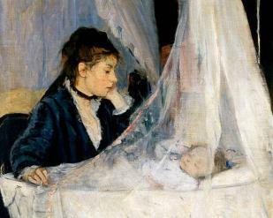 Le berceau - 1872 - Berthe Morisot