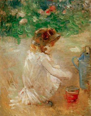 Les pâtés de sable 1882 - Berthe Morisot