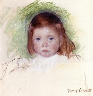 Portrait d'Ellen Mary Cassatt par Mary Cassatt